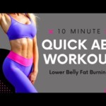 Lower Stomach Fat Loss Quick Abs Workout|No Equipment